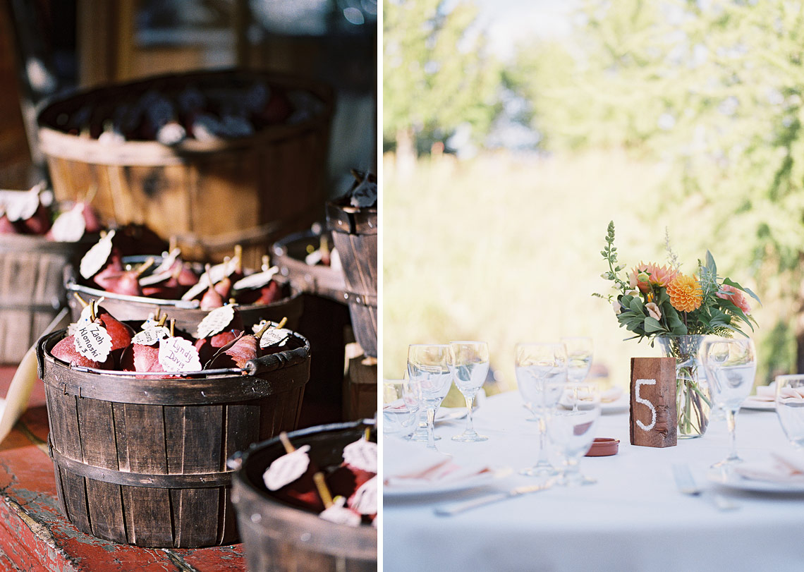 Mount Hood organic farms wedding